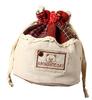 new design mini drawstring jute bag