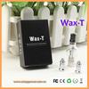 2014 Most popular glass bottle vaporizer wholesale china/ High quality glass globe wax vaporizer glass tobacco