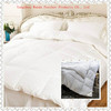 100% cotton european size luxury comforter hotel goose down duvet