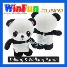 Cute Fat Panda Toy Talking And Walking Plush Panda