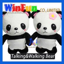 Speaking panda doll Walking Panda Dolls Cute Panda Doll