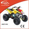 200cc four stroke atv, four wheel bike for adults with EEC LMATV-200