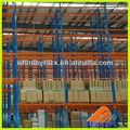 Laminados material rack de armazenamento, vertical automática do sistema de armazenamento, armazém estantes de fluxo