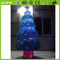Decorative best sale hot-selling good printing inflatable christmas tree