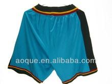 sublimated printing custom mens basketball short
