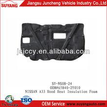 Car Accessories NISSAN A33 Hood Heat Insulation Foam