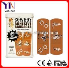 Cartoon adhesive band aid