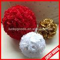 artificiales propuestos de color rosa bolas decorativas