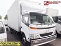 Stock#35755 dutro hino longo e largo caixa corpo caminhão usado para venda japão rhd