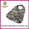 sturdy folding shopping bag with zipper