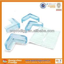 plastic decorative furniture corner guards/glass corner protection