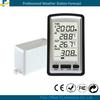 Temperature decorative outdoor rain meter gauge