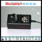 24V AC Power Adapter 230v with CE UL,CCC,BS,CUL,GS,FCC,KC,PSE,CB,SAA