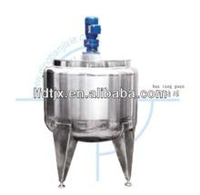 Tanques de mezcla para el jugo de producción y procesamiento de lácteos tanques de mezcla