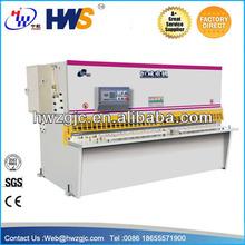 Hydraulic metal cutter closed loop hydraulic, cnc controller , cnc hydraulic punch & shear machine