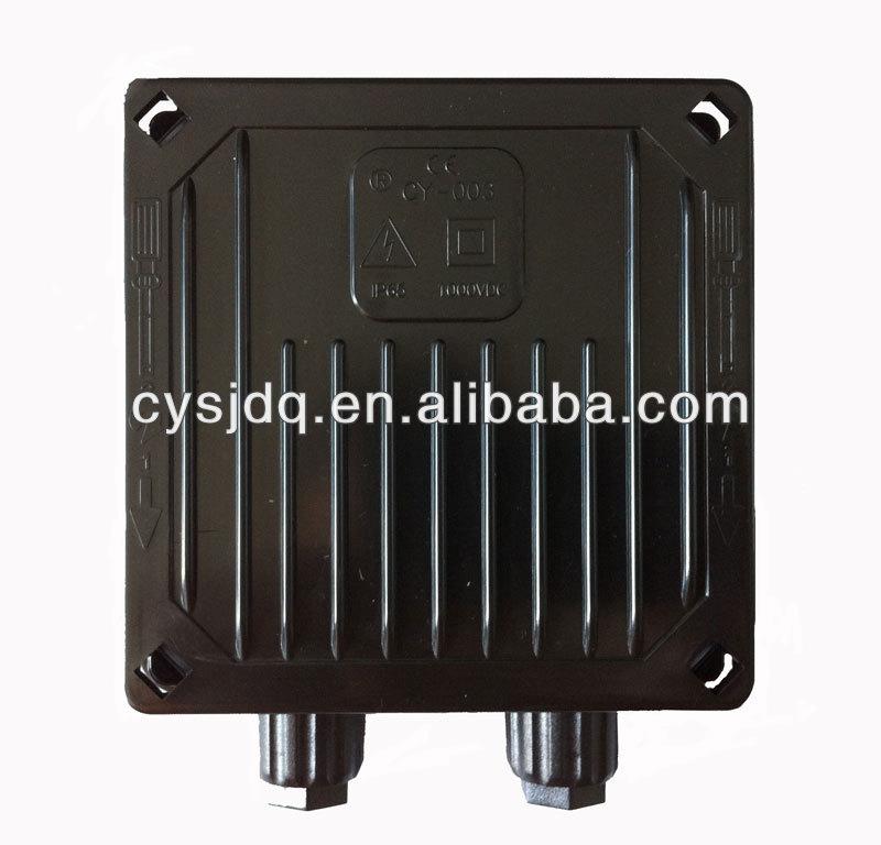 DC 1000v junction box for solar module