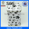 pet food metal tin container, dog food tin box, rectangle metal tin pet food container