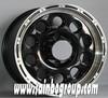 4x4 chrome alloy wheels