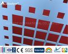 Building Curtain Wall PVDF Aluminum Perforated Panels