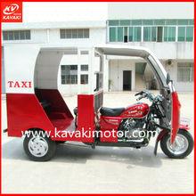 High Quality Passenger Tricycle Bike / Three Wheel BAJAJ Style Trike Classic Tricycle Taxi