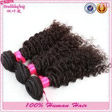 5A grade 100% unprocessed kiny curly virgin remy brazilian/peruvian/indian/malaysian virgin human hair