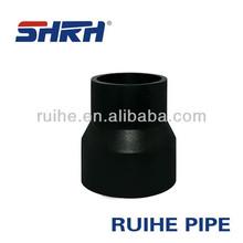 quick shaft pe pipe reducing coupling