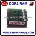 ddr2 ram portátil de 2gb precio en china