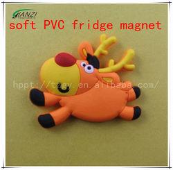 Custom cartoon soft PVC fridge magnet