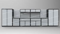 Luxury Garage Workshop Tool Box,Combination Storage Cabinet AX-ZHG0036-1