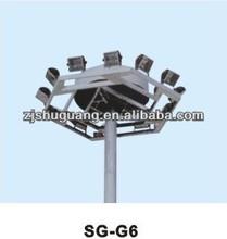 SG-G6 10-35m auto lift system high mast lighting