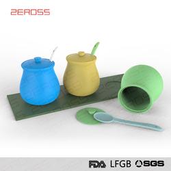 Eco-friendly anti-corrosion oil and vinegar cruet sets