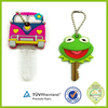 Souvenir Hot Sale personalized silicone plastic key fob covers