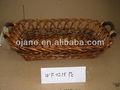 venta al por mayor 2014 natural de almacenamiento cesta de mimbre para el regalo
