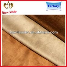 High density warp knitting polyester fabric micro suede waterproof