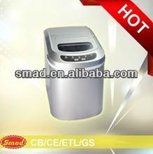 12v portátil mini pellet máquina de hielo para la venta
