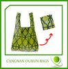 hot style superior quality reusable shopping bag folding nylon bag