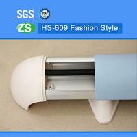 wall covering escalator handrail rubber