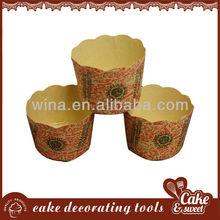 Competitive price Food grade paper mini cupcake baking tray