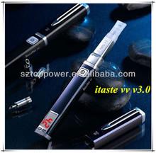 Top selling vv mod itaste mvp/ itaste vv vaporizer pen innokin vv v3.0 e cigarette