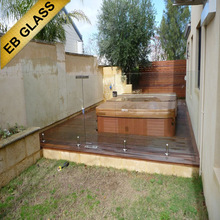 tempered glass fence panels, EB GLASS