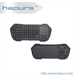 Hapurs Portable 2.4G Rii Mini i8 Wireless Keyboard Mouse Combo with Touchpad for PC Pad Google Andriod TV Box Xbox360 PS3