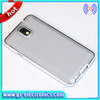 Hot sell Pure Color Back TPU Transparent Case for Samsung Galaxy S5 i9600 Protective Case transparent TPU case for 9600