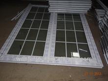 hot sell white grill design pintu pvc door