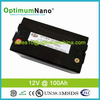 Rechargeable 12V 100ah lithium battery pack for solar energy storage system