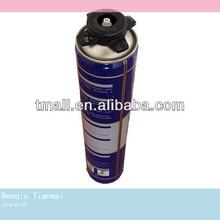 Liquid Chemicals 750ML Can PU Foam Sealant Spray Foam Insulation Polyurethane Foam Manufacturer