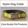 Strap Nylon Dog Collars With Metal Buckle