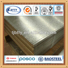 galvanized mild steel plate size 3mm thick, made in china