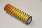 Holographic Hot Stamping golden Foil