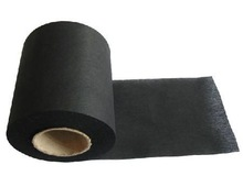 Black chemical non woven activated carbon
