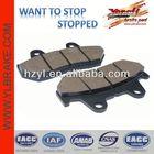 High performance brake pad motorcycles supply